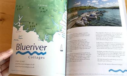 Magazine design in Cornwall