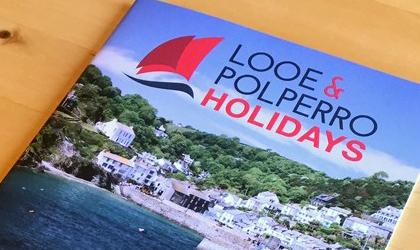 Looe and Polperro Magazine Design