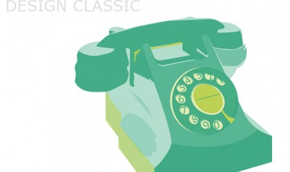 October's Design Classic, the 300 Series BPO Phone,
