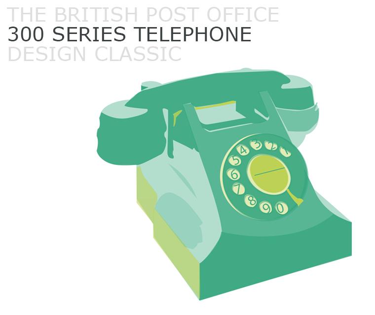 October's Design Classic, the 300 Series BPO Phone,