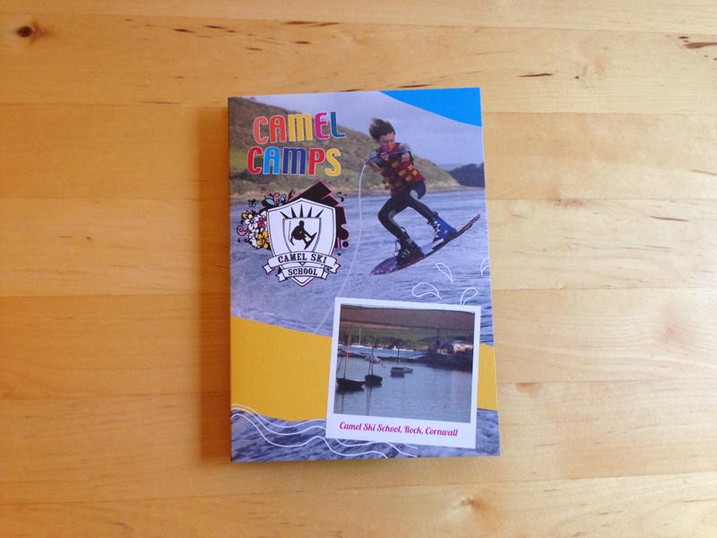 Leaflet design for Camel Camps