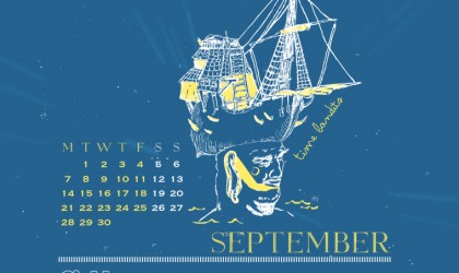 The September 2015 Time Travel Calendar featuring Time Bandits