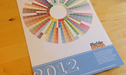 2012 A4 Pickle Calendar
