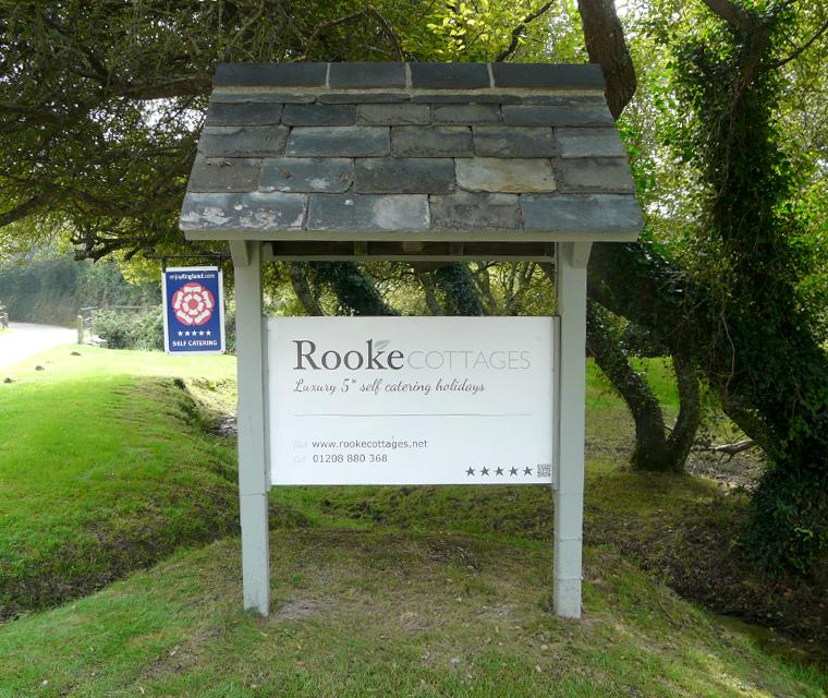 Rooke Cottages Entrance Sign