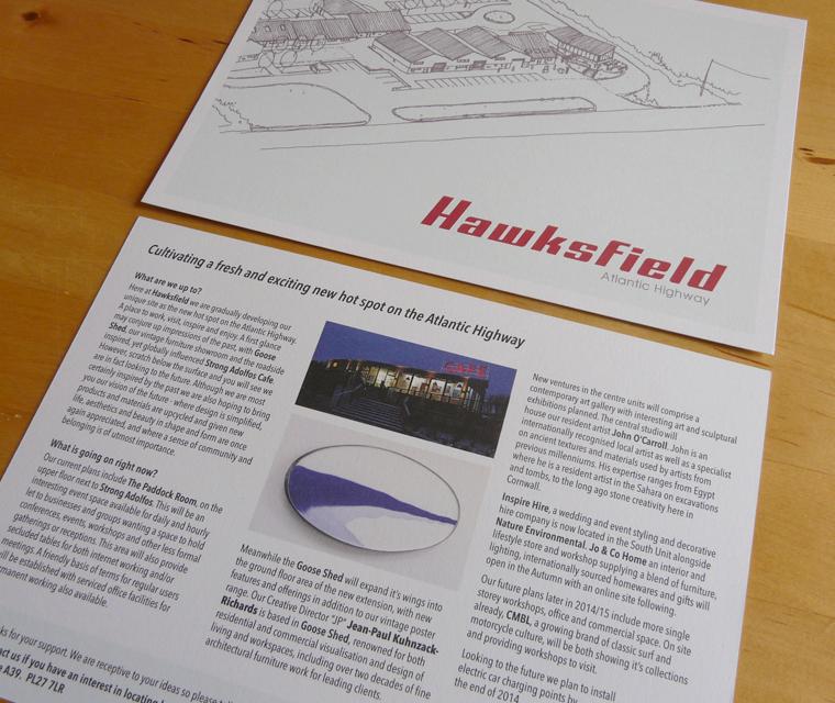 Hawksfield A5 Flyer