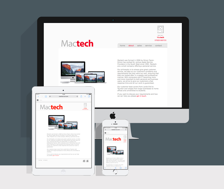 Mactech responsive web design