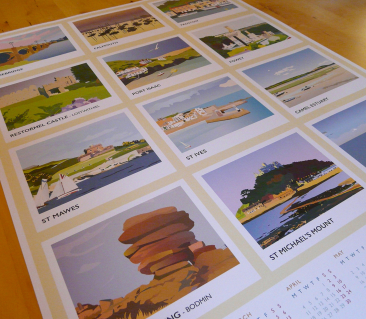 Pickle Design's 2016 calendar