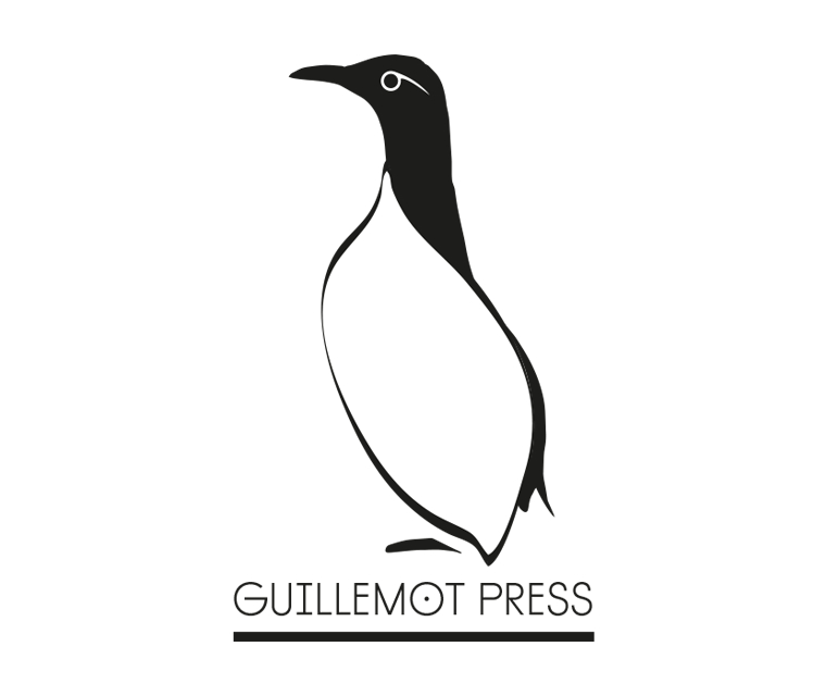 Illustrative logo design for Guillemot Press