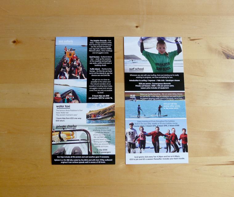 Wavehunters Surf School Flyer Design