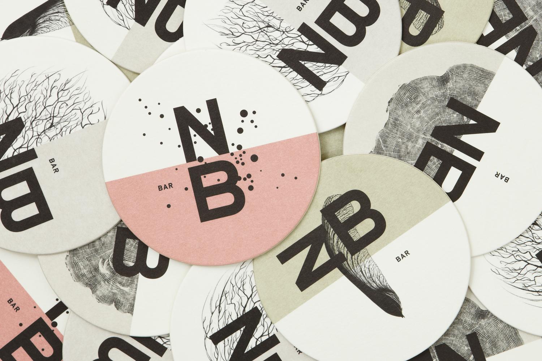 Print design for Nota Bene by Blok