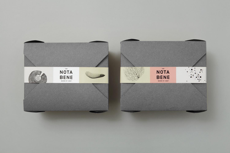 Packaging design for Nota Bene by Blok