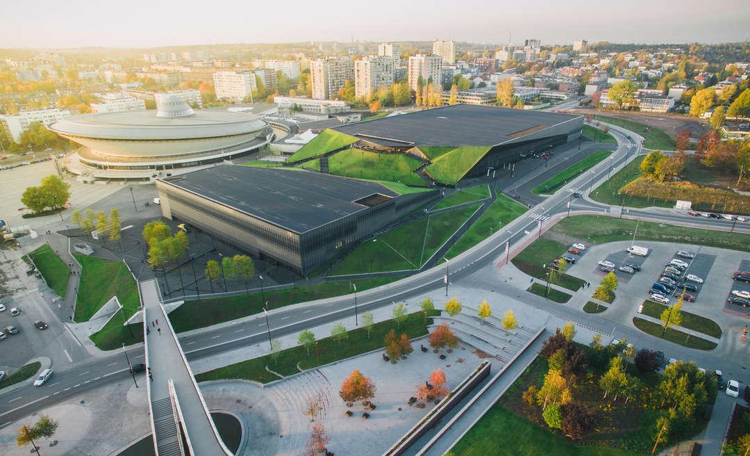 International Congress Centre Katowice by JEMS Architekci, Katowice, Poland