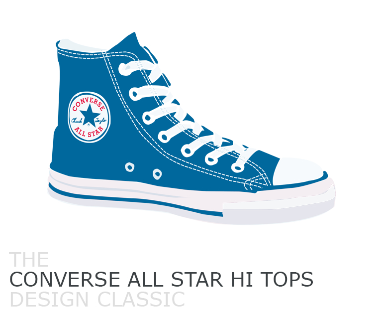 Pickle Design Classic, Converse All Star Hi Tops