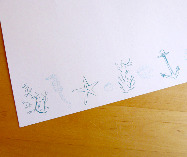 Letterhead design for Lizard Holiday Cottages
