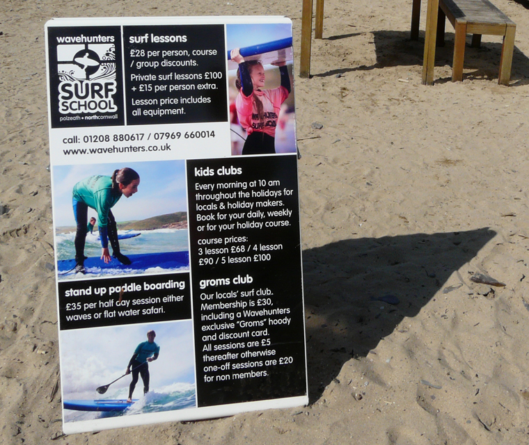 A Board design for Wavehunters Surf School