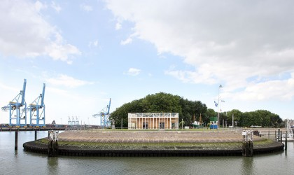 The Royal Belgian Yacht Club designed by Wim Goes Architectuur