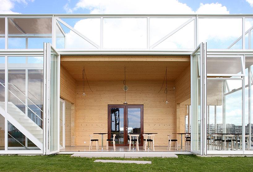Royal Belgian Yacht Club by Wim Goes Architectuur