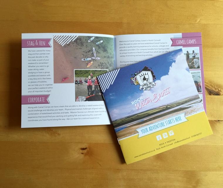 Camel Ski School brochure for St Moritz