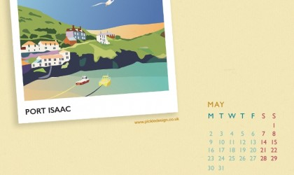 Download the May calendar of Port Isaac