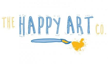 Logo design for The Happy Art Company