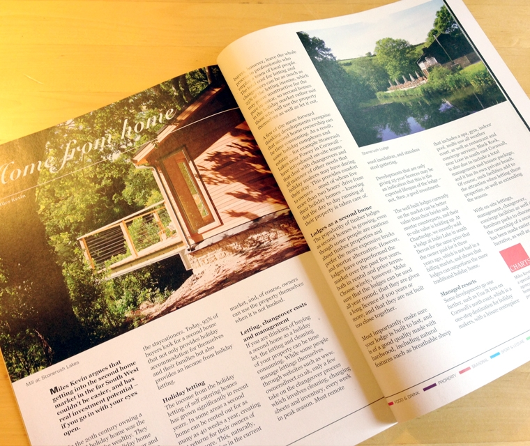 Layout and design for The South West Magazine