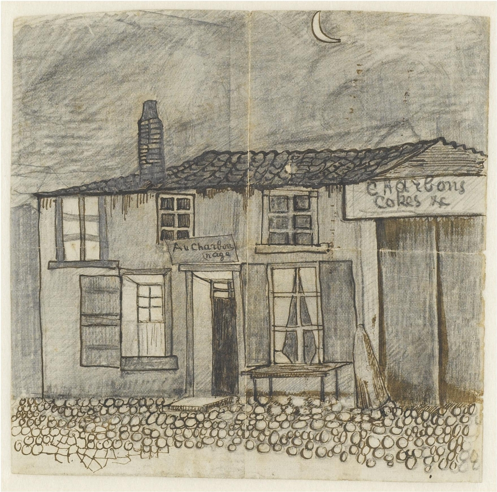 Café Au Charbonnage - To Theo Van Gogh (Vincent's brother) from Laken (near Brussels)
