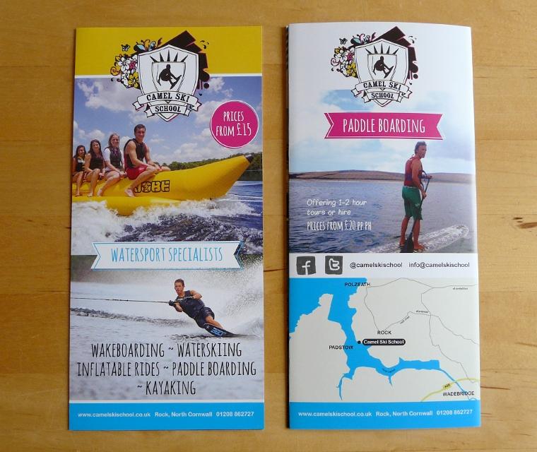 2015 Camel Ski School leaflet