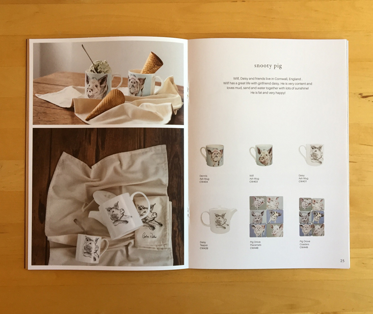 The 2017 Caroline Walker lifestyle homewares brochure