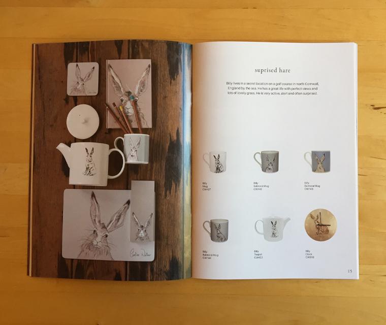 The 2017 Caroline Walker lifestyle homewares brochure