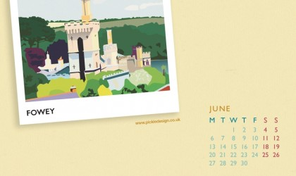 Download the Pickle Design calendar of Fowey for your desktop, tablet or phone