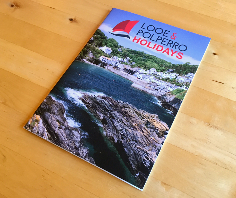 Looe and Polperro magazine designed by Pickle Design