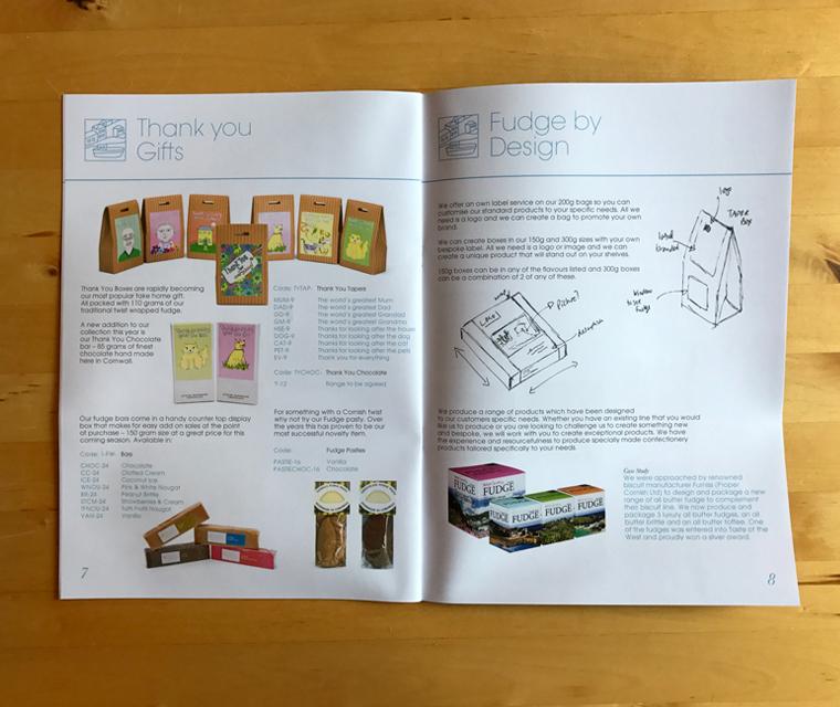 Buttermilk Confections brochure