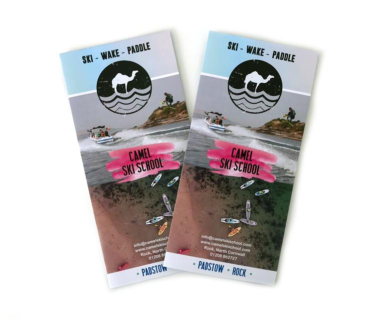 Camel Ski School 2018 tourist leaflet
