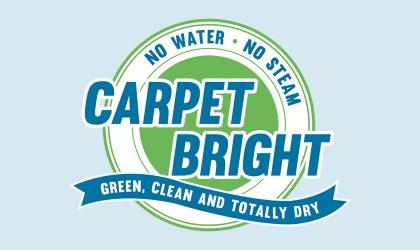 Logo design for Carpet Bright