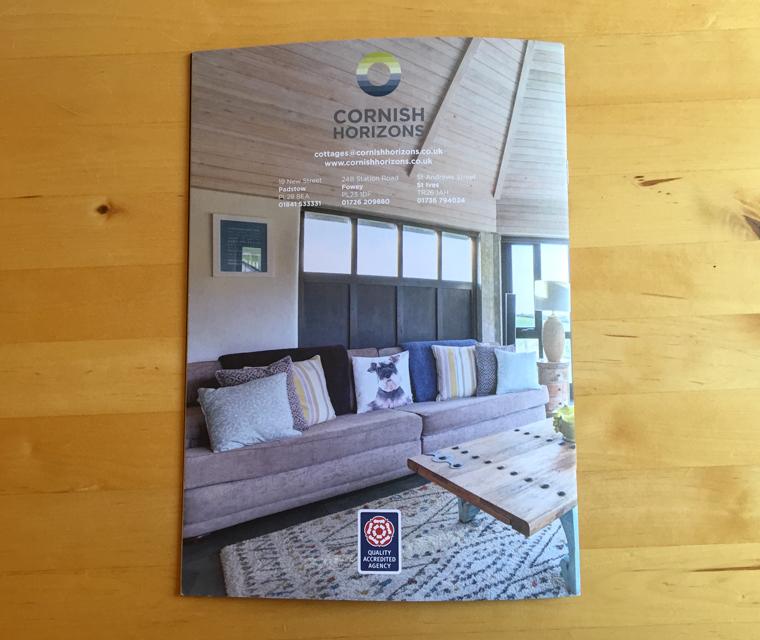 Back cover of the Cornish Horizons magazine