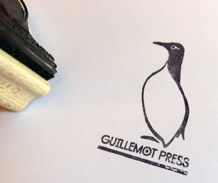 Guillemot press wooden stamp
