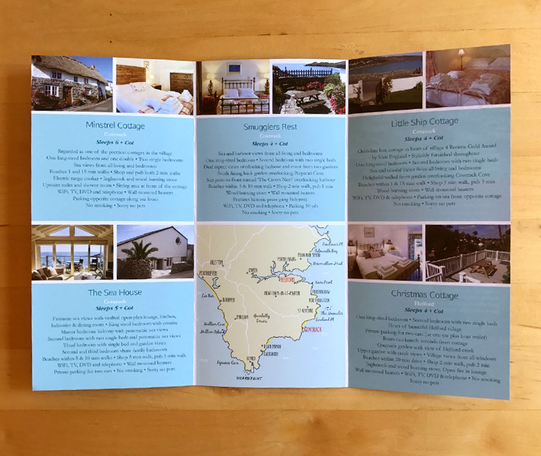 Lizard holiday cottages 2017 leaflet