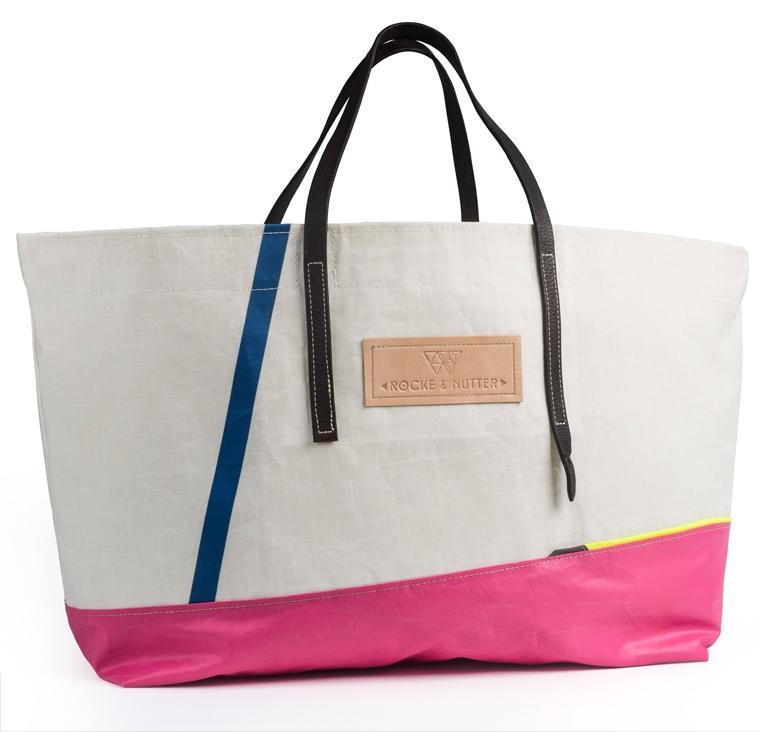 Rocke and Nutter bag and label design