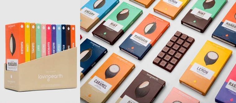 chocolate packaging inspiration