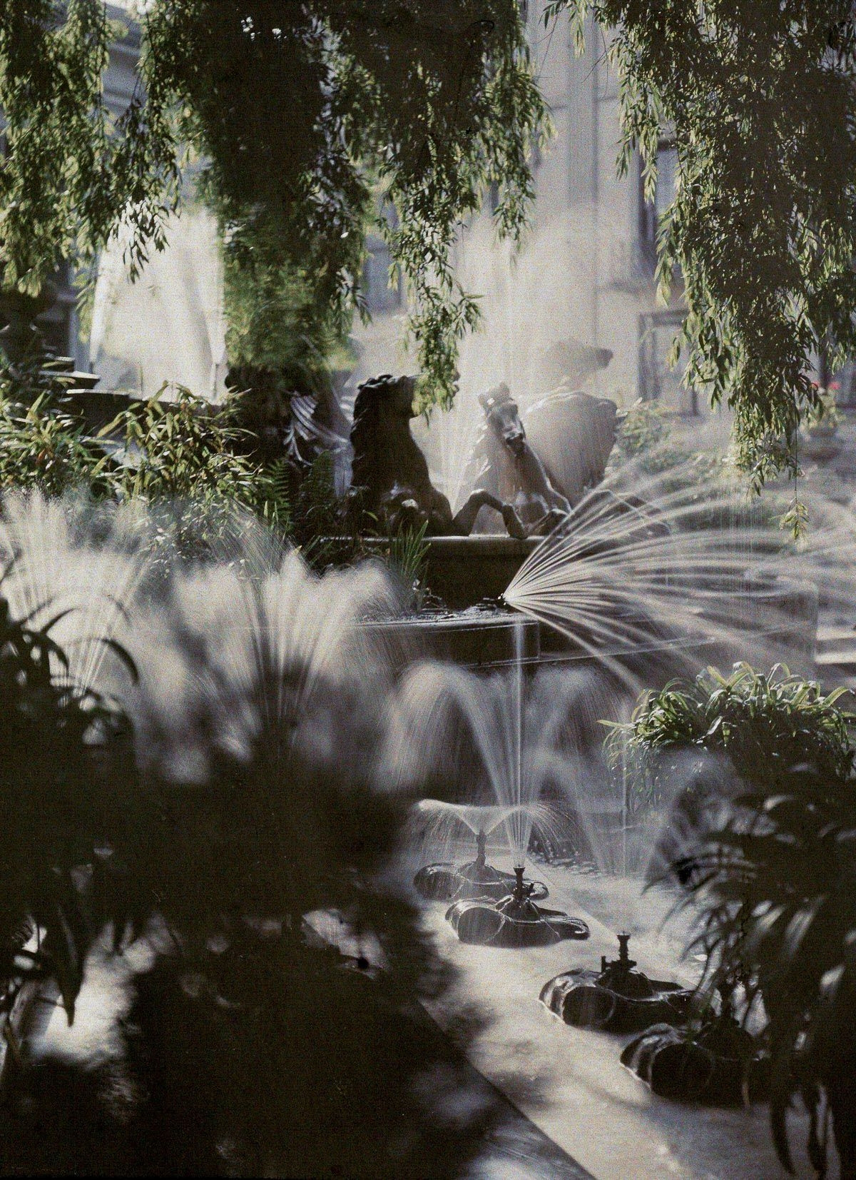 1910 The Neptune Fountain, Cheltenham