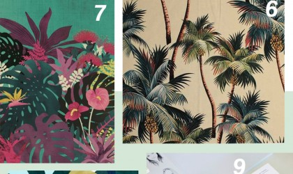 Tropical print inspiration