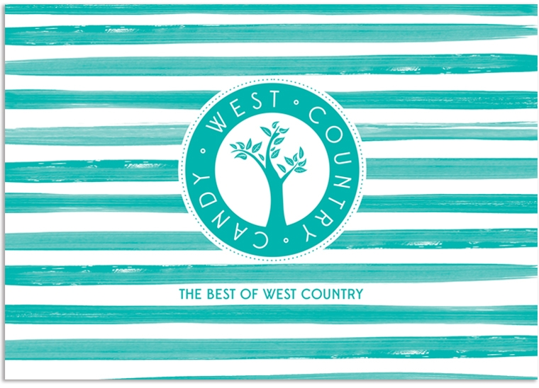 West Country Candy brochure front