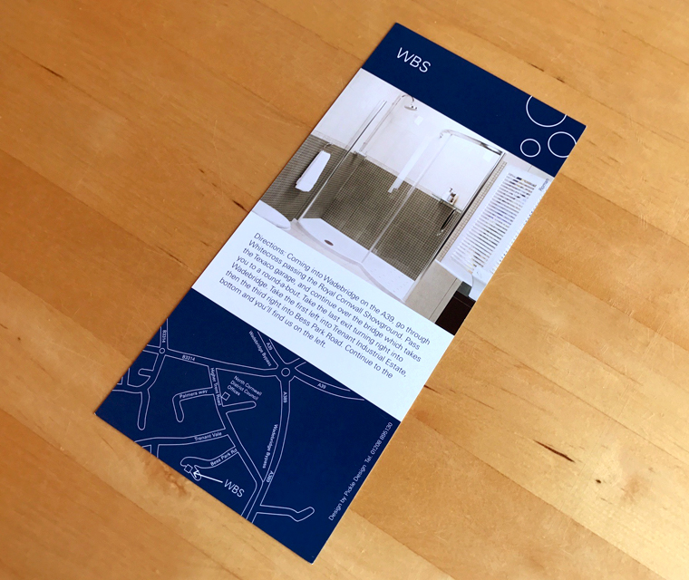 Wadebridge Bathroom Studio leaflet