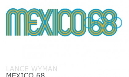 Lance Wyman's logo design for Mexico 68
