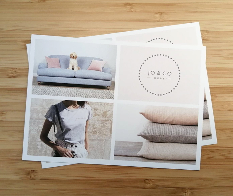 Jo&Co Home A6 mailers with a Spring theme