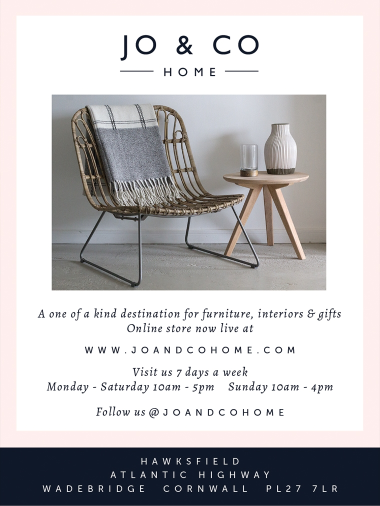 Advert design for Jo and Co Home