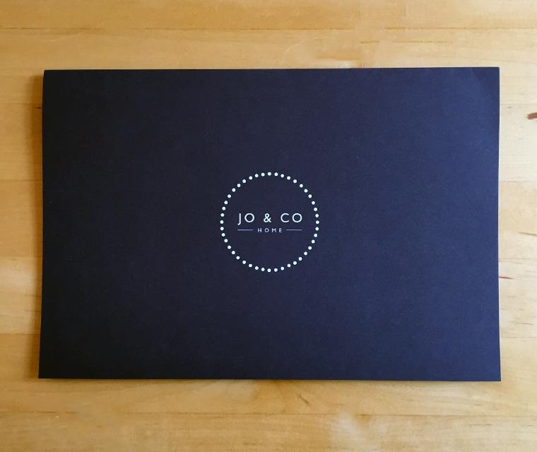 Jo & Co Bespoke envelope