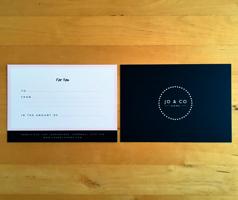 Jo & Co giftcard