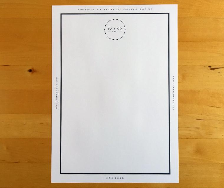 Jo & Co letterhead