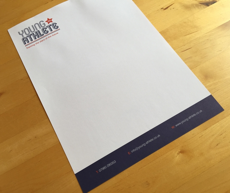 Young Athlete Letterhead